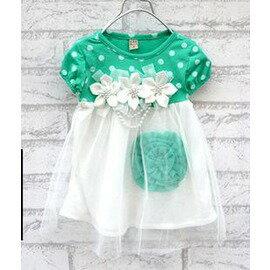 童短袖連衣裙女童半身裙子0~2歲 可愛公主裙 ~7701007