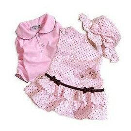 嬰兒服裝女寶寶衣服秋冬新款0-1歲連衣裙公主裙裙子套裝-7701007