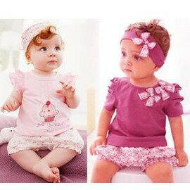 嬰兒服裝女寶寶衣服夏裝-7701007