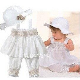 嬰兒服裝夏季 嬰兒裝0-6個月 1歲一周歲女寶寶 夏裝 新款寶寶裙子套裝-7701007