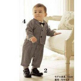 嬰兒服裝寶寶衣服 一周歲生日 滿歲寶寶春裝韓版男嬰兒裝-B-7701007