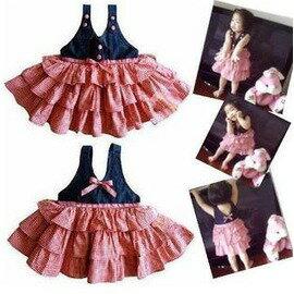 爆款嬰兒服裝女 小孩衣服童裝6個月-3歲女小孩春夏套裝-7701007