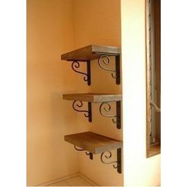 鐵藝三角支架 加厚空調托架宜家廚房置物架 衣櫃收納架浴室三腳架-6001004