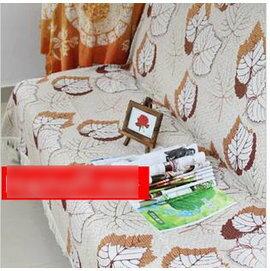 【 布藝沙發巾單人180x230cm 】楓葉全蓋型雪尼爾-7101008