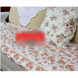 【沙發巾扶手墊】圓角小碎花70cm寬沙發墊/飄窗墊 -7101008