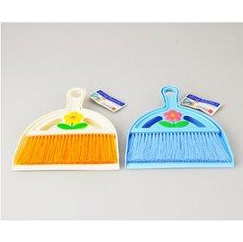 【餐桌清潔小毛掃帶小簸箕】新款 桌檯面迷你除塵掃把 套裝-6001005