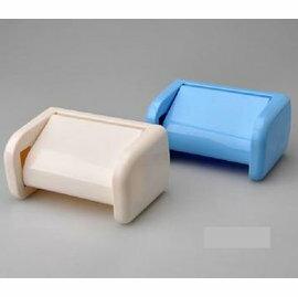 【浴室防水吸盤紙巾盒 】新款衛生紙盒架子 簡約純色抽紙盒 -6001005