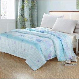 ~空調被150x200cm~夏涼被芯羽絲絨被單雙床薄被子可水洗空調被 超柔潤膚夏被~710