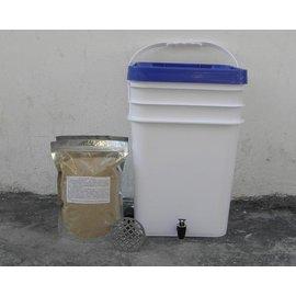 【廚余堆肥發酵桶+工具+1kgEM】堆肥桶  口徑26*40cm-5101001