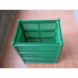 【種植箱-三層深】陽臺菜園 家庭有機蔬菜菜園 組合深花盆 45*32*50cm-5101001
