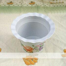 【BC300波紋盆】加托盤 花盆 種菜盆 塑膠盆 外徑27*24cm-5101002