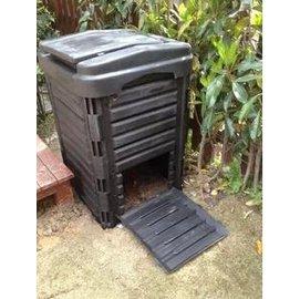 【有氧堆肥箱-290L】發酵桶 有機肥積肥箱 可拆卸堆肥桶 超大 63*63*98cm(預購&可選海運)-5101001