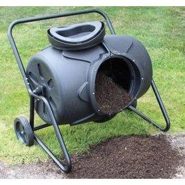 【旋轉式積肥桶-200L】超大外貿環保堆肥桶 200升旋轉式園林積肥桶 堆肥箱 漚肥桶 99.5*79*90cm(預購&可選海運)-5101001