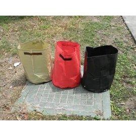 【種植袋-D35&40&45-三色】蔬菜種植袋 種菜盆 ,三個/套(D35*45,D40*30,D45*25cm)-5101001