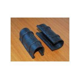 【壓膜卡-6分管(25管)】溫室大棚配件 壓膜卡 加強型,配合外徑24-26mm圓管使用,50個/包-5101005