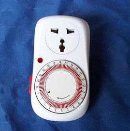 【計時器插座--粒-原包】水培控制器 節能調節器 時間控制器 自動控制簡單方便-5101003