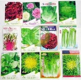 【菜種子-組合自選-7包/組】水培蔬菜 蔬菜種子 觀賞蔬菜,組合自選,7包/組-5101003