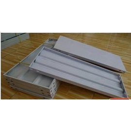 【層板-噴塑鋼板-1.0*0.4米-1片/組】定做陽臺花架置物架多肉架暖房保溫棚家用小溫室(送螺絲)-5101001