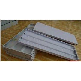 【層板-噴塑鋼板-1.0*0.3米-1片/組】定做陽臺花架置物架多肉架暖房保溫棚家用小溫室(送螺絲)-5101001