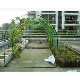 【植物爬藤瓜架-圓頂-L250*W200*H180cm-1套/組】樓頂種菜爬藤 菜架 攀藤架子 植物園藝支架-5101013