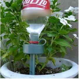 【自動澆花器-滴速可調-總長27cm-8個/組】 澆水器 滲水器 可樂瓶自動澆花器-5101013