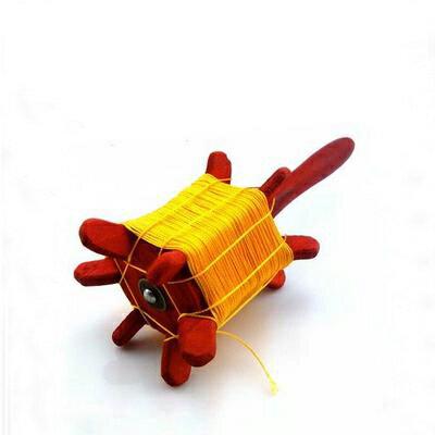 【風箏線軸-軟木-紅木拐/白木拐-2個/組】傳統軟木拐子濰坊風箏放飛工具已繞好線到手可用,兩款可選(可混搭)-30012