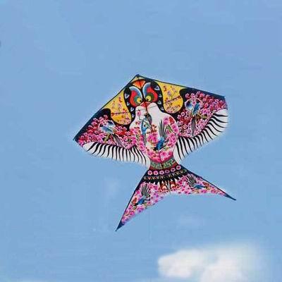 【小款沙燕風箏-120*120cm-2個/組】濰坊風箏三角風箏 傳統圖案現代工藝 漂亮簡單 三級風易飛,可代購其他配件-30012