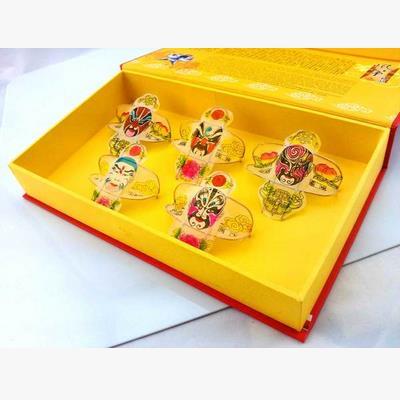 【風箏禮盒-京劇臉譜/四美女圖-1款/套-1套/組】濰坊特色風箏禮品禮盒傳統特色小禮品兩款可選-30012