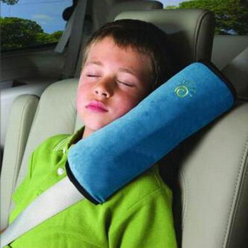 【車用兒童護肩套-A款-12*28.5cm-4個/組】寶寶嬰兒汽車安全帶護肩套(可混色)-527004