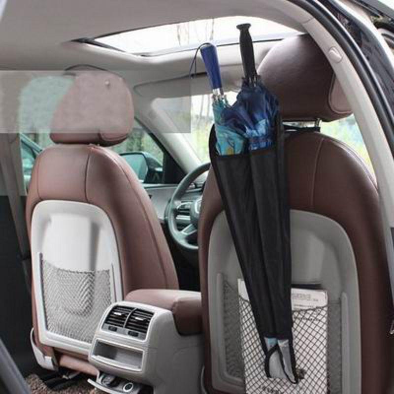 ~汽車椅背雨傘收納袋~25^~67cm~2個  組~車載雨傘桶雨傘袋伸縮雨傘套汽車用品內飾