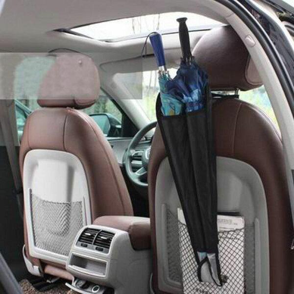 【汽車椅背雨傘收納袋-25*67cm-2個/組】車載雨傘桶雨傘袋伸縮雨傘套汽車用品內飾-527004