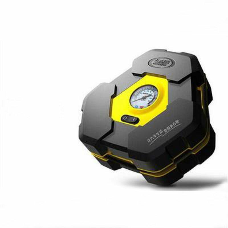 【車載電動充氣泵-電源線長285cm-1套/組】車用電動便攜式汽車輪胎打氣泵強力快速充氣筒-527008