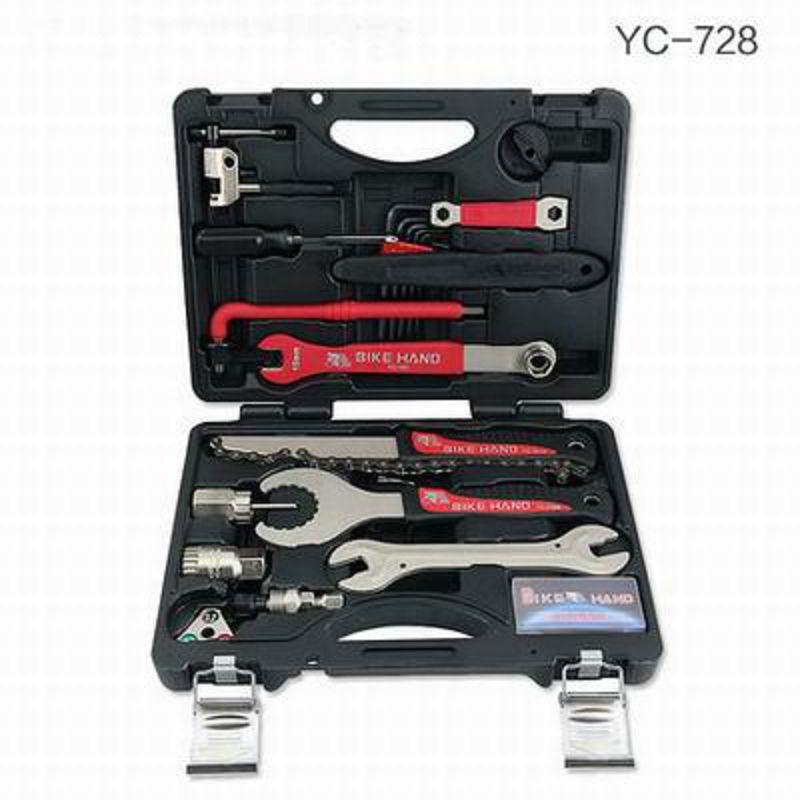 【18合一自行車工具箱套裝-YC-728-1套/組】單車修車修理工具組騎行裝備小巧便攜-527058