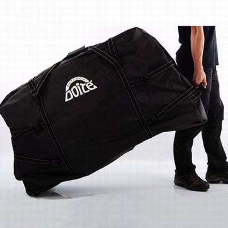 【單車裝車包拖輪袋-6193-110*68*25cm-26寸整車-1套/組】自行車拖包裝車袋附輪組袋-527058