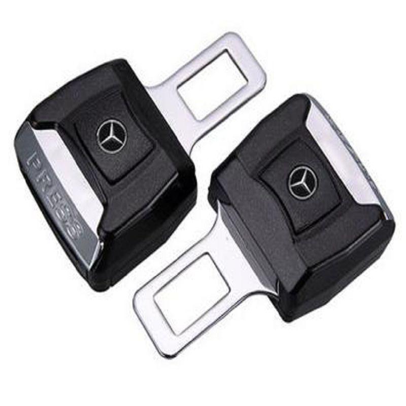 【安全帶卡夾延長器-車型通用-2個/組】汽車安全帶叉片卡夾延長器插片夾子插頭卡扣固定器-527101