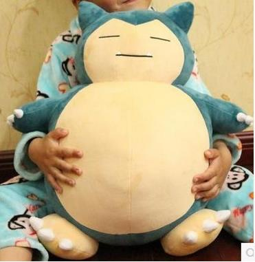 【宅配免運】卡比獸抱枕 Pokemon go神奇寶貝 M 抱枕娃娃寶可夢 神奇寶貝球行動電源毛絨玩具情人節-58001(預購品8-10天到貨)