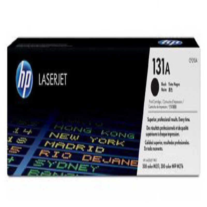 【原裝惠普 131a 黑色硒鼓-1個/組】適用於 200 M251 200 MFP M276彩色印表機 -586001