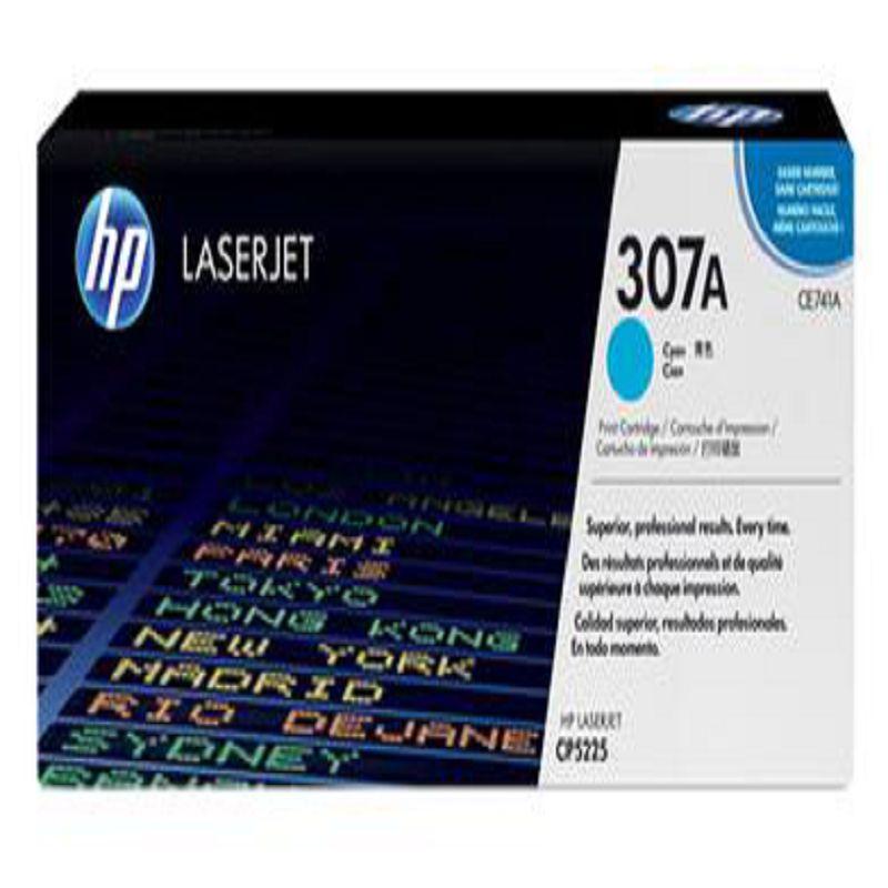 【原裝正品 hp5225 CE741A 藍色硒鼓-1個/組】適用於 hp cp5225 307a 惠普 cp5225dn -586001