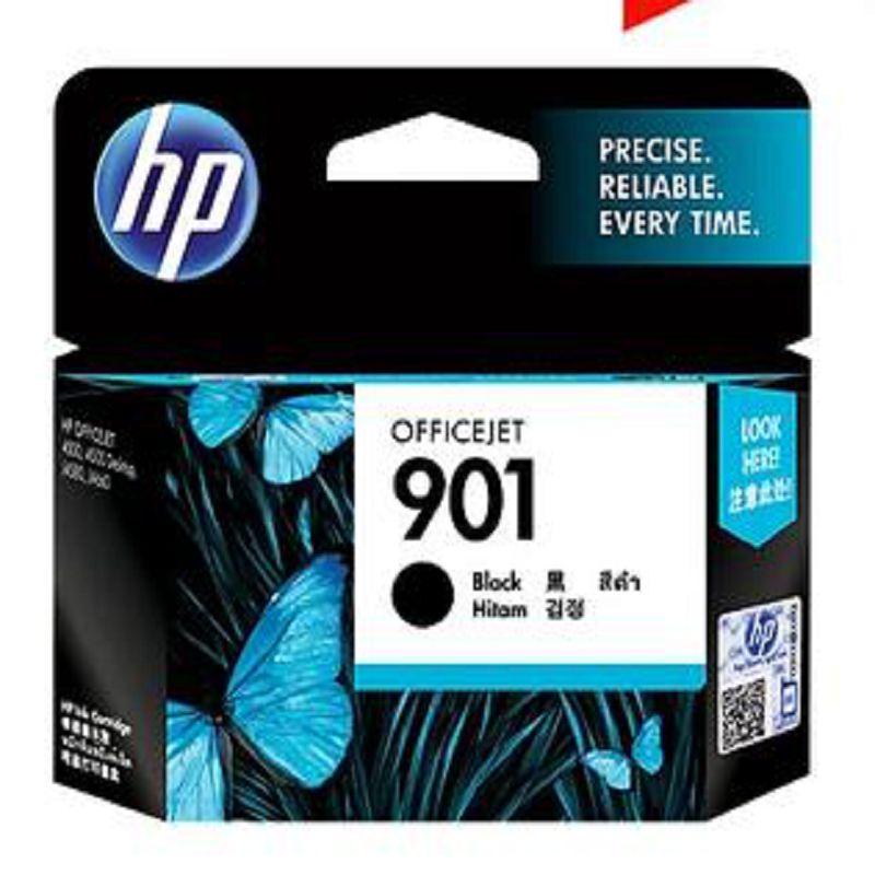 【原裝正品 惠普 hp 901 黑色墨水匣-1個/組】適用於 4500 高容 4660 j4580 4680-586001