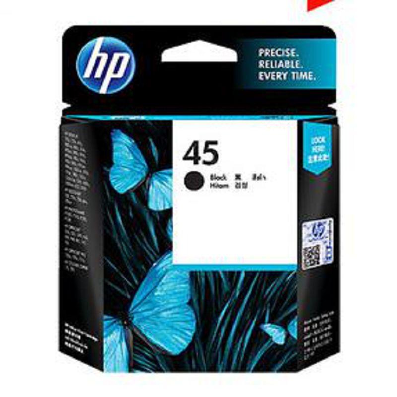 【原裝正品 惠普 HP 45 51645AA 黑色墨水匣-1個/組】適用於 710c 815C 1180C 1280-586001