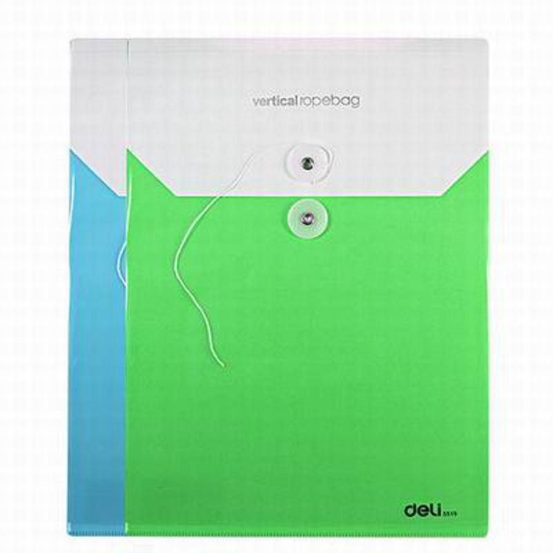 【A4-PP檔案袋-5519-22.5*31cm-16個/組】彩色票據收納檔資料公文袋試卷整理袋-586003