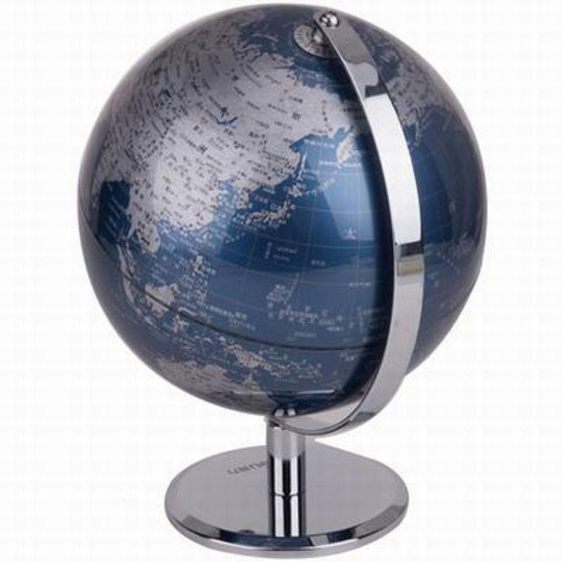 ~金屬漆面不銹鋼支架地球儀~2161~直徑20cm~總高32cm~1套  組~防滑 加厚地