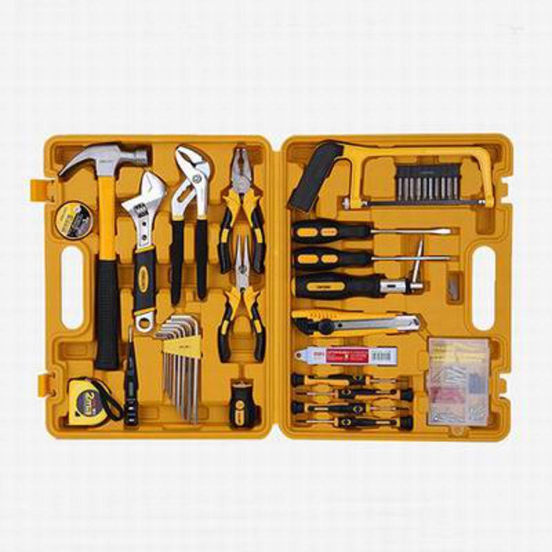 【53件套多功能組合工具箱-3703-38*27.5*7.5cm-53件/套-1套/組】辦公家用百寶箱可?式工具箱-586003