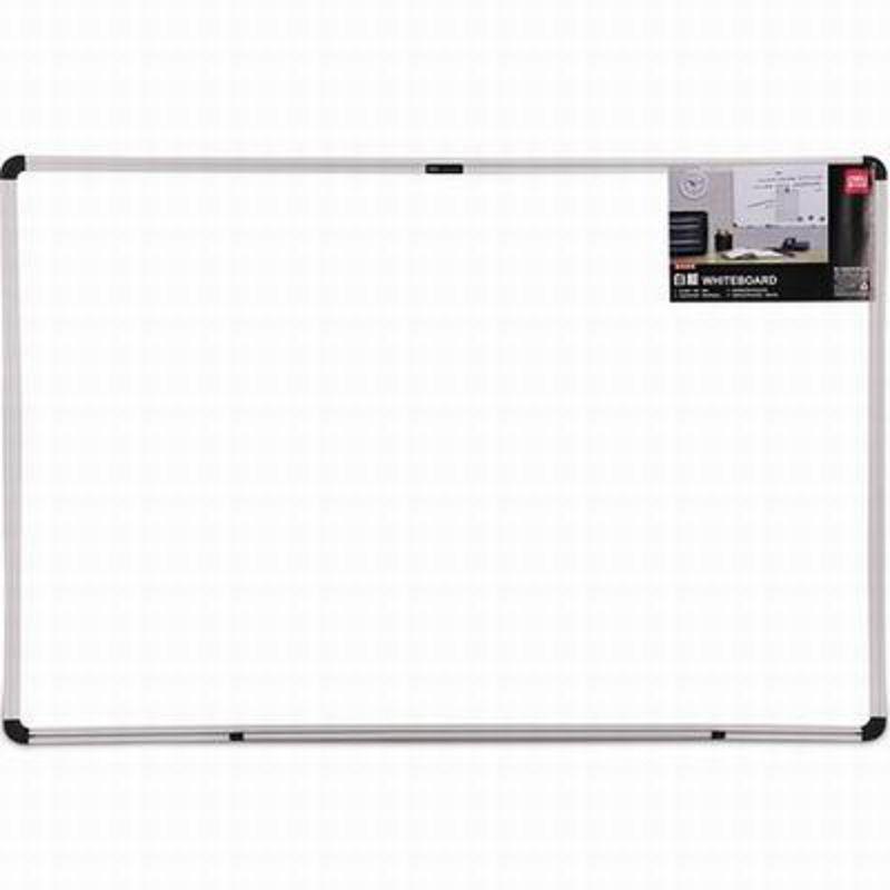【掛式磁性白板-33340-40*60cm-1套/組】大白板寫字教學辦公會議板(送筆+板擦+磁釘)-586003