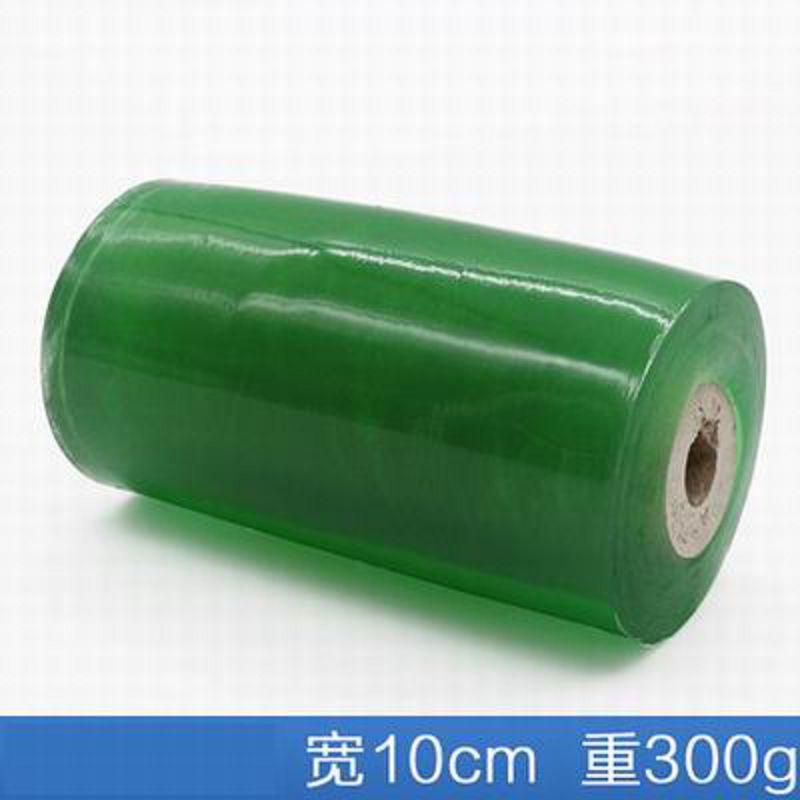 【PVC繞線膜-寬10cm*300g/卷-6卷/組】電線膜纏繞膜透明工業自粘包裝膜捆紮膜嫁接膜-586016