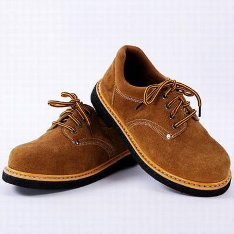 【冬季工作安全鞋-輪胎底-兩款多尺寸-1雙/組】勞保鞋鋼包頭真皮透氣實心耐磨耐油防砸防穿刺-586035