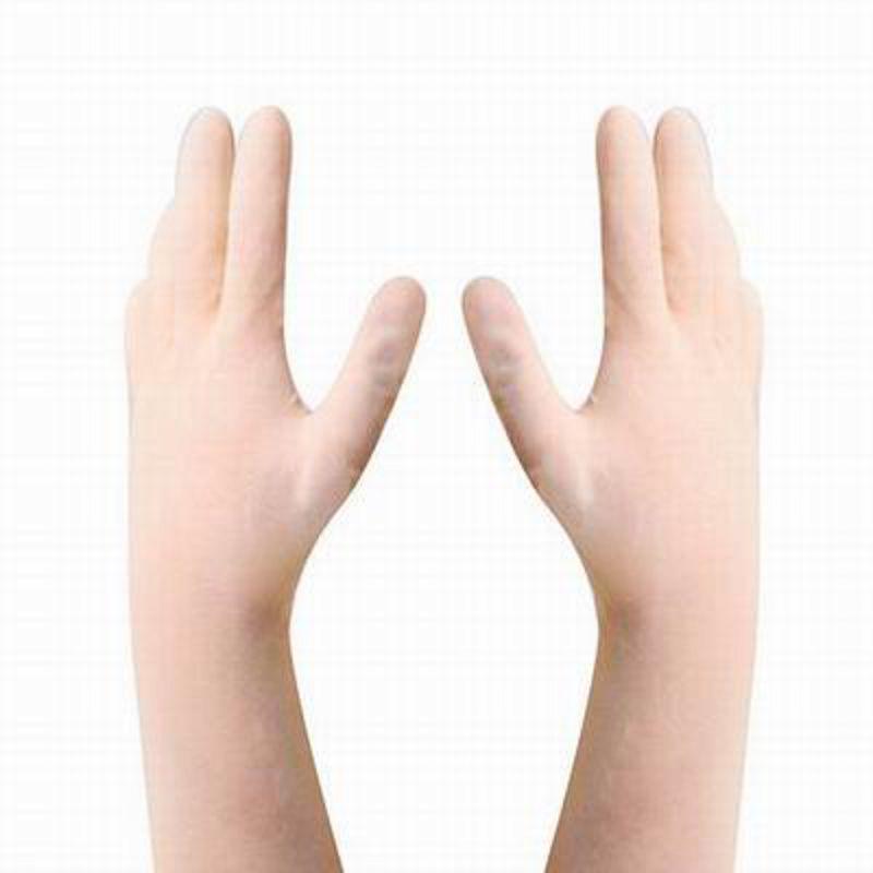 【一次性淺黃色牛筋手套-12雙/包-1包/組】超長加厚防護無粉無塵家務工業乳膠手套-586036