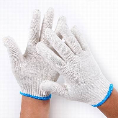 【500克棉紗手套-YD178-12雙/包-3包/組】勞保防護手套工地工程作業幹活機械手套工地搬運-586039