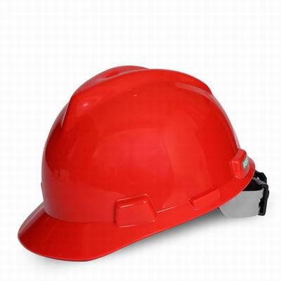 【標準V型安全帽-ABS-9121429-1個/組】工地工程防砸安全帽,免費單色印字(加色需加費)-586039