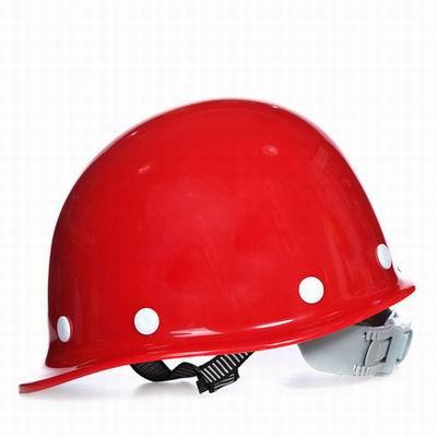 【高強度玻璃鋼安全帽-玻璃鋼-1個/組】工地工程防防墜落安全帽,免費單色印字(加色需加費)-586039